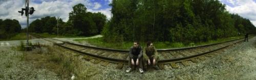 Matt Sparling, Railway Tracks, 2008, digital inkjet print